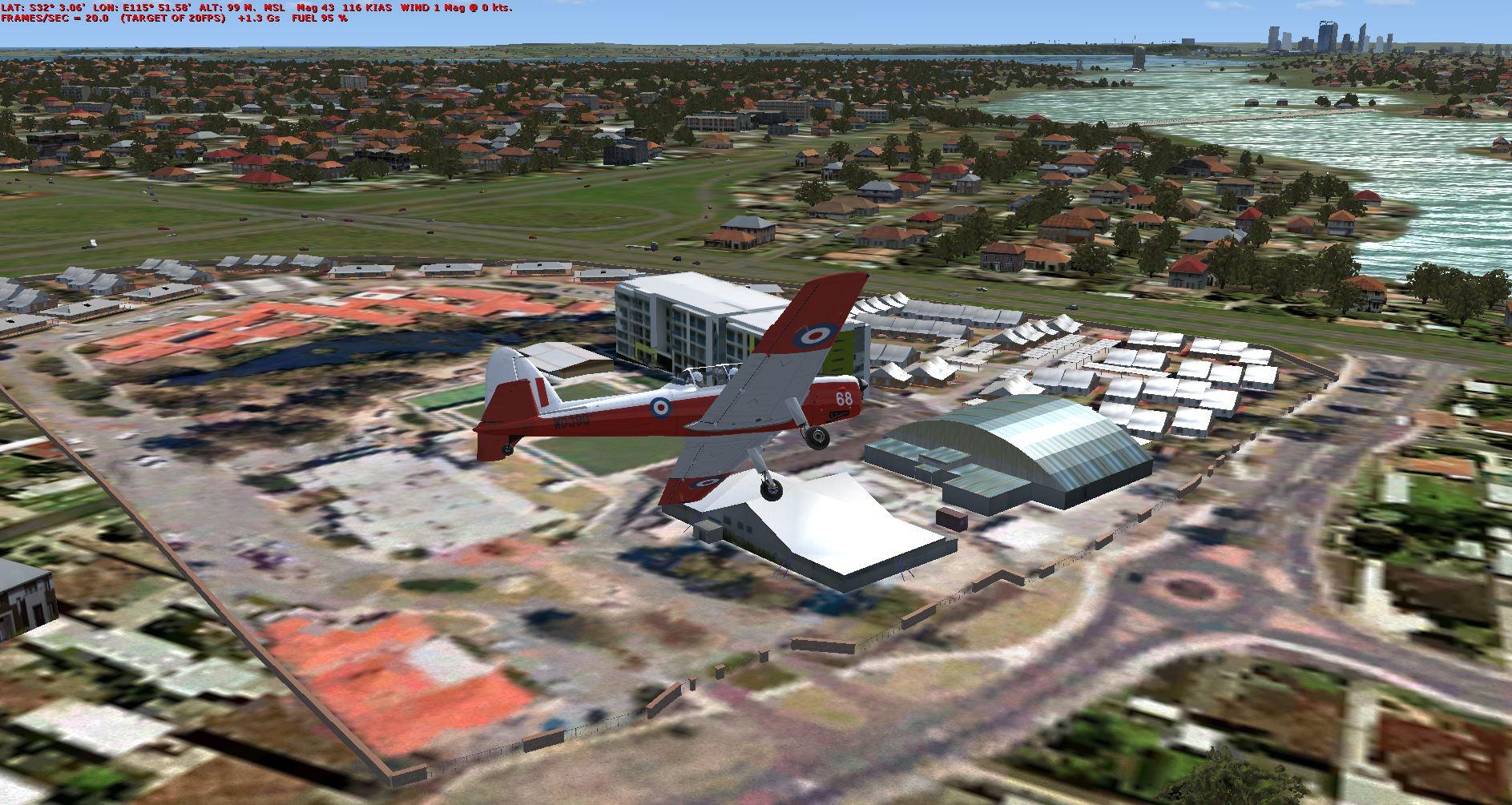 Bull Creek Australia  City new picture : ... FSX Airfields, RAAFA Bull Creek Museum and village, Western Australia